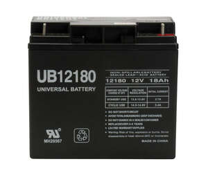 Universal Power Group  UB12180  18 amps Lead Acid Automotive Battery