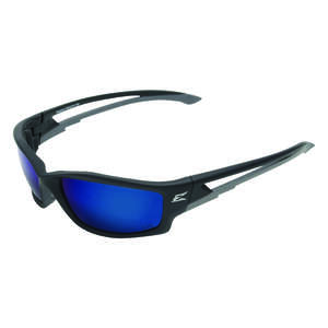 Edge Eyewear  Kazbek  Safety Glasses  1  Blue  Black  Polarized