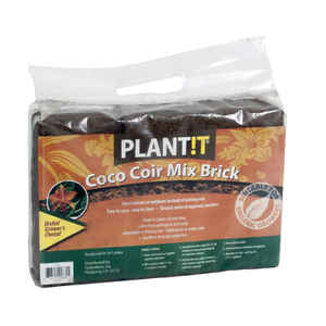 Hydrofarm  Plant It  Organic Coco Coir Mix  3 pk