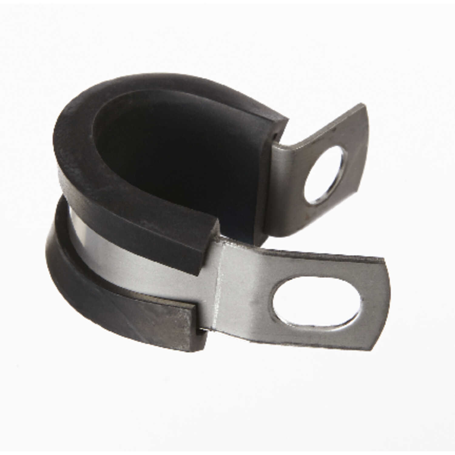 Jandorf  1/2 in. Dia. Stainless Steel  Cushion Clamp  2 pk
