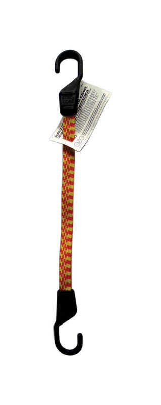 Keeper  Multicolored  Bungee Cord  18 in. L x 0.14 in.  1 pk