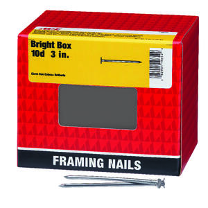 Ace  10D  3 in. L Box  Bright  Steel  Nail  Smooth  Flat  5 lb.