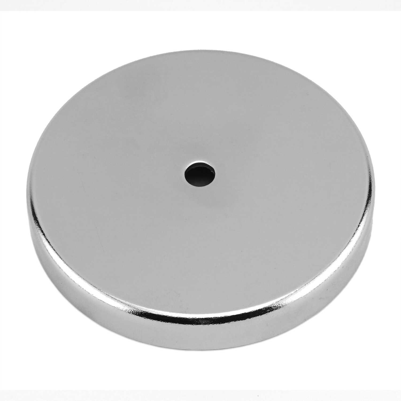 Master Magnetics .44 in. Ceramic Round Base Magnet 95 lb. pull 3.4 ...