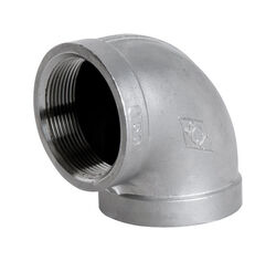 Smith-Cooper  1 in. FPT   x 1 in. Dia. FPT  Stainless Steel  90 Degree Elbow