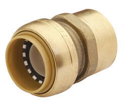 SharkBite 1/2 in. Push x 1/2 in. Dia. FPT Brass Connector