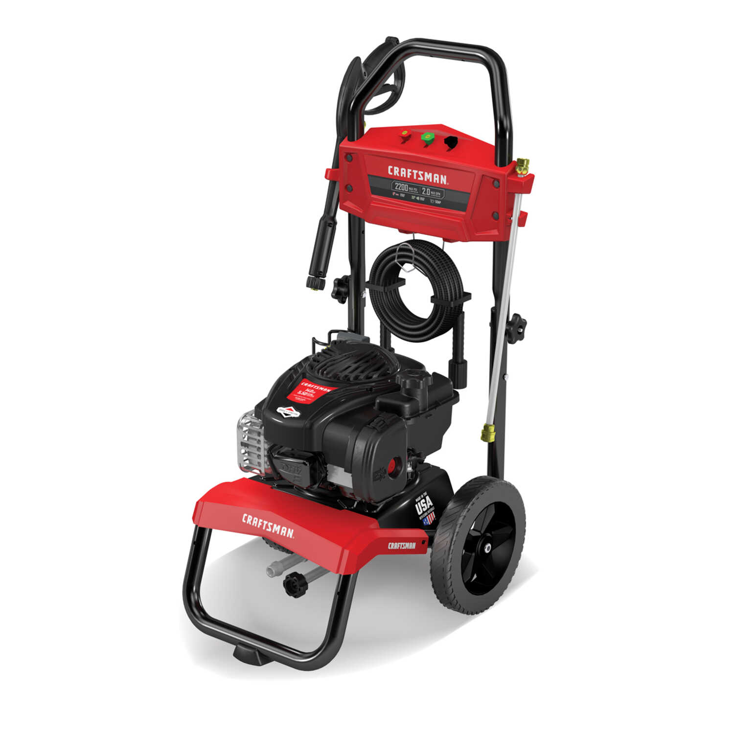 Craftsman  Briggs & Stratton  2200 psi Gasoline  2 gpm Pressure Washer