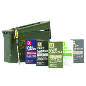 Duke Cannon  Ammo Can  Gift Set Scent Bar Soap  40 lb.