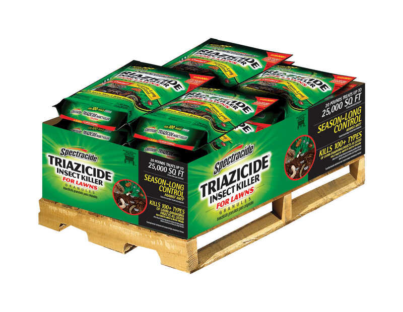 Spectracide  Triazicide Once & Done  Insect Killer for Lawns  20 lb.