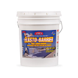 Ames Elasto-Barrier Smooth Light Gray Elastomeric Roof Coating 5 gal.