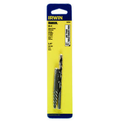 Irwin  Hanson  1/4 in.  x 1/4 in. Dia. High Speed Steel  Drill Bit Extractor Set  6 in. 1 pc.