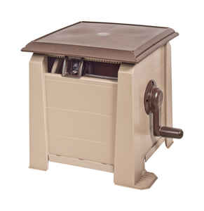 Ames  Neverleak  175 ft. Stationary  Brown  Hose Cabinet