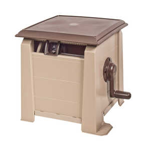 Ames  Neverleak  175 ft. Stationary  Hose Cabinet  Brown