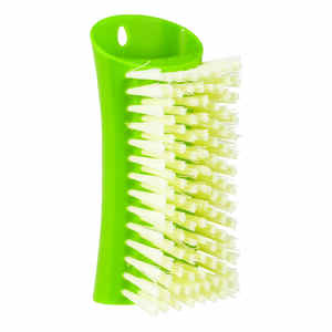 Full Circle  Lean and Mean  2.36 in. W Bamboo  Scrub Brush