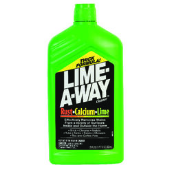 Lime-A-Way Fresh Scent Calcium Rust and Lime Remover 28 oz. Liquid