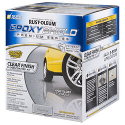 Rust-Oleum EpoxyShield High Gloss Clear Premium Floor Coating Kit 90 oz.
