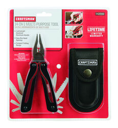 Craftsman  Multi-Tool  Black/Red  2 pc.