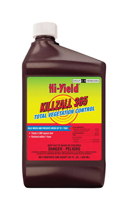 Hi-Yield  Killzall 365  Concentrate  Weed and Grass Killer  32 oz.