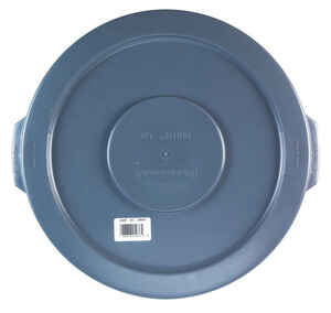 Rubbermaid Commercial  BRUTE  Plastic  Garbage Can Lid  Lid Included