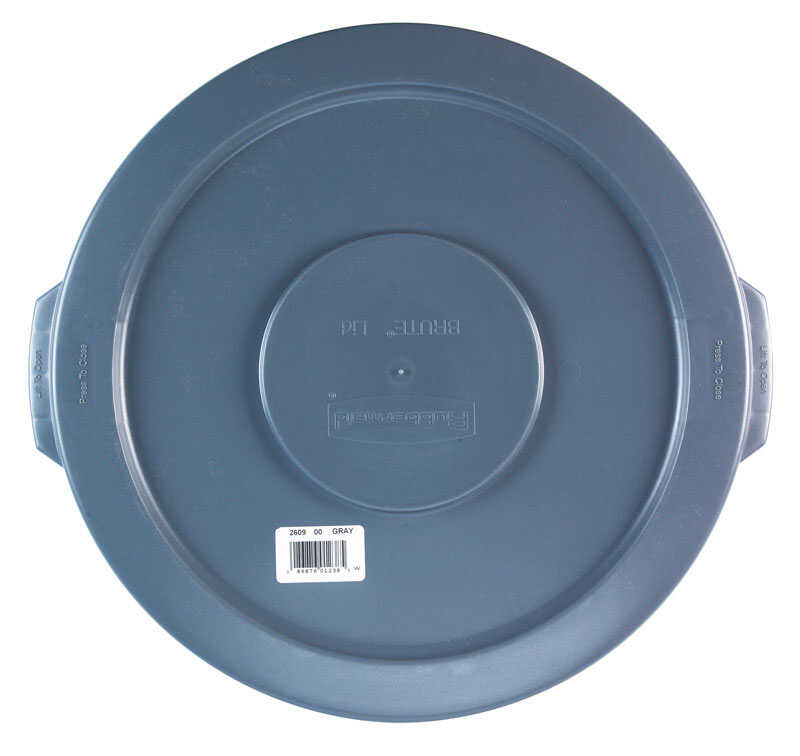 Rubbermaid Commercial  BRUTE  10 gal. Plastic  Garbage Can Lid