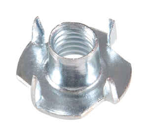 Hillman  1/4   Zinc-Plated  1/4 in. SAE  Tee Nut  100 pk Steel