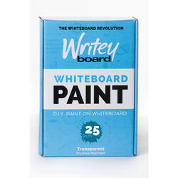 Writey Board Hi-Gloss Clear Whiteboard Paint 1 gal.