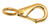 Campbell Chain  3/8 in. Dia. x 2-5/32 in. L Polished  Bronze  Quick Snap  60 lb.