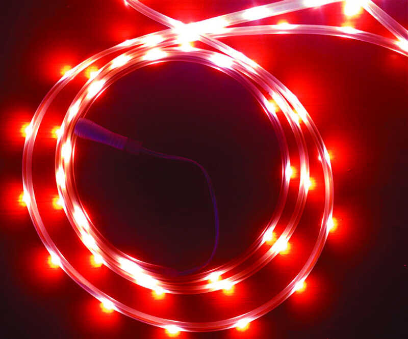 Celebrations  LED  Flex Tape  Rope Lights  Red  16.5 ft. 99 lights