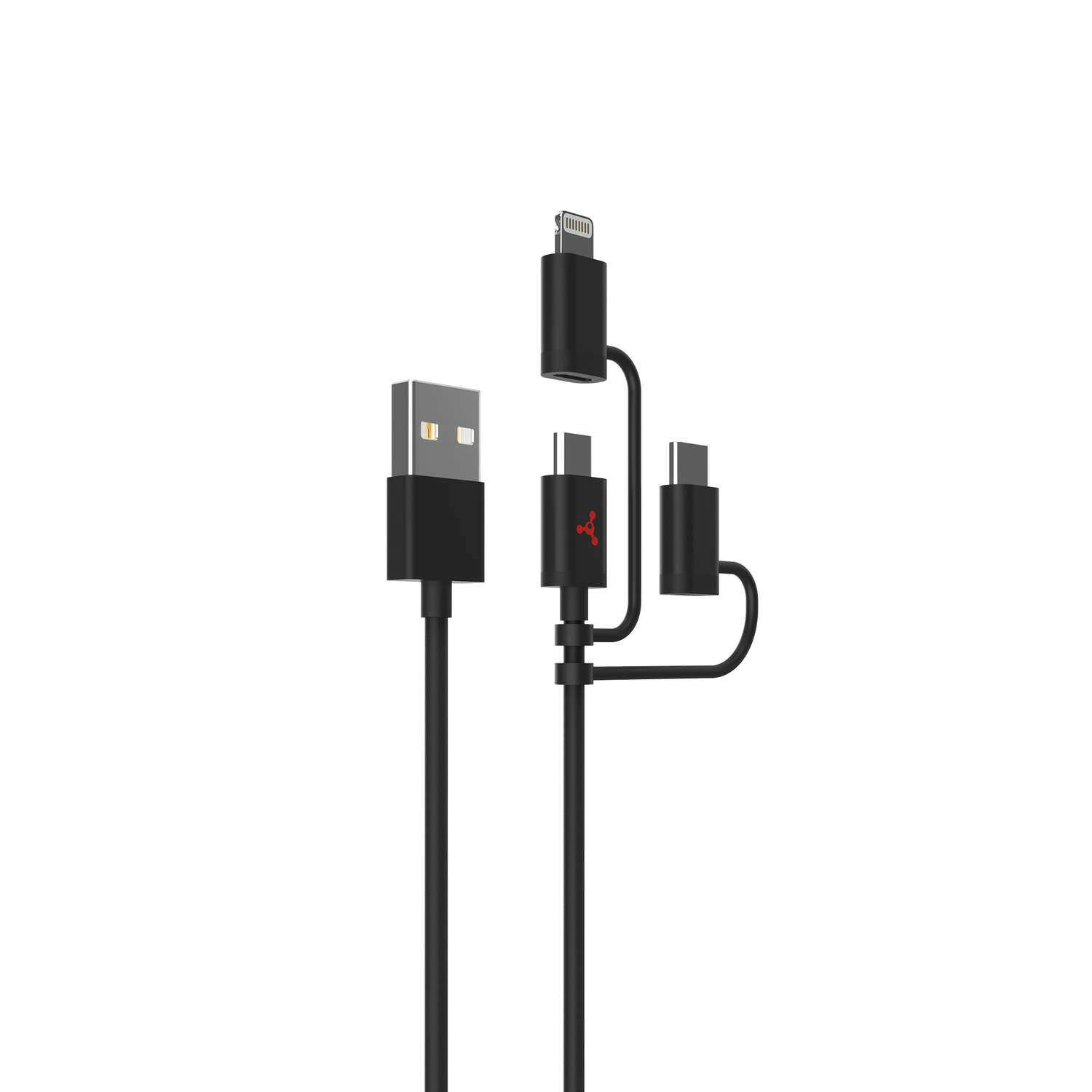 Fuse 3 ft. L Lightning and Micro to USB Cables 2.4 mAh 1 pk