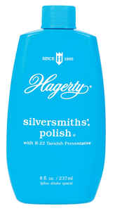 Hagerty  No Scent Silversmiths' Polish  8 oz. Liquid