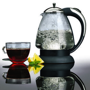 Capresso  Clear  Glass/Plastic  48  Electric Tea Kettle