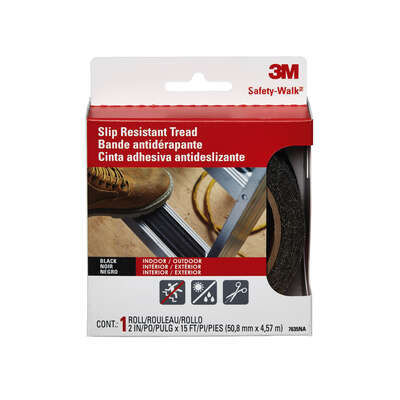 3M Safety-Walk Black Step and Ladder Tread Tape 2 in. W x 15 ft. L 1 pk