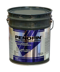 Penofin  Blue  Semi-Transparent  Cedar  Oil-Based  Wood Stain  5 gal.
