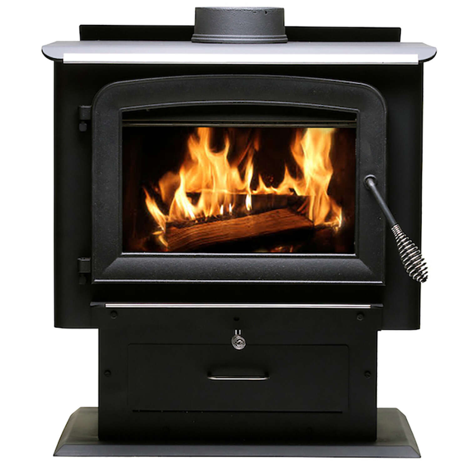 US Stove Ashley EPA Certified 2000 sq. ft. Cord Wood Stove