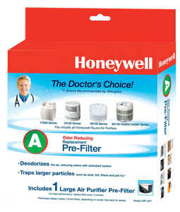 Honeywell  2.75 in. W x 10.13 in. H Square  Carbon Pre-Filter