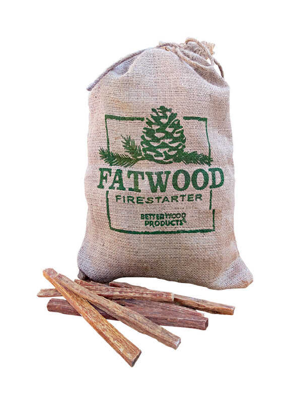 Better Wood Products  Fatwood  Pine Resin Stick  Fire Starter  4 lb.