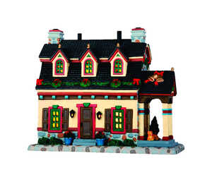 Lemax  Sullivan Manor  Multicolored  Resin  1 each Porcelain Village Building