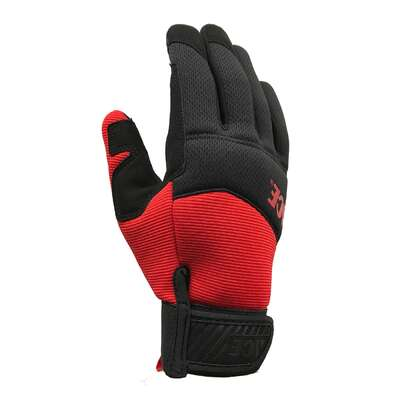 Ace  XL  I-Mesh  General Purpose  Black/Red  Gloves