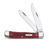 Case  Trapper  Red  Stainless Steel  Pocket Knife