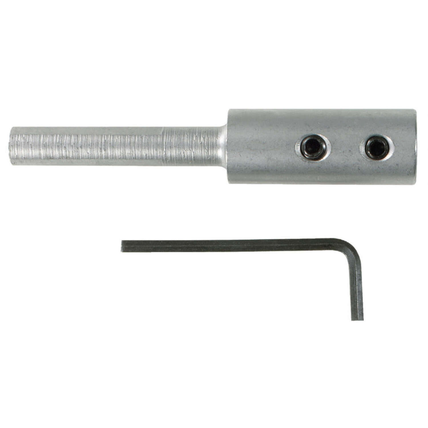 Irwin 4 in. Steel Forstner Bit Extension 3/8 in. Round Shank 1 pc.