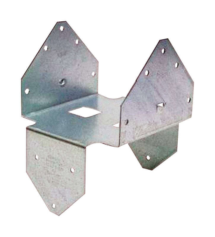 Simpson Strong-Tie  ZMAX  2.93 in. H x 5.5625 in. W 18 Ga. Galvanized Steel  Post Base