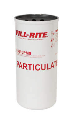 Fill-Rite  Nickel Plated  Particulate Spin-On Filter  40