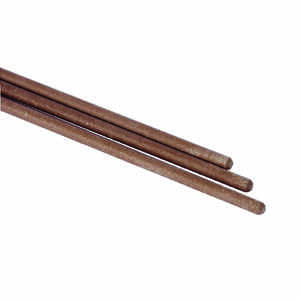 Forney  1/8 in. Dia. x 14 in. L E7014  Mild Steel  83000 psi Welding Electrodes  1 lb. 1