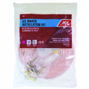 Ace  1/4 in. Dia. x 15 ft. L Type L  Ice Maker Kit