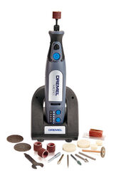 Dremel  1/8 in. Cordless  Rotary Tool  Kit  28000 rpm