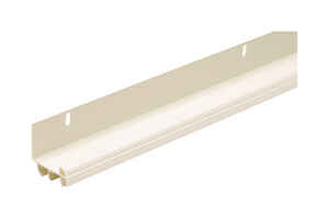 M-D Building Products  White  Vinyl  Door Bottom  For L-Shaped 36 in. L x 1-3/4 in.