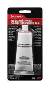 Bondo  Liquid Cream Filler Hardener  3/4 oz.