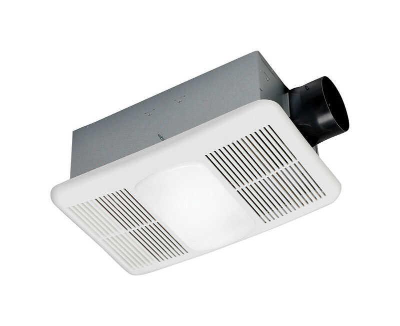 Delta BreezRadiance 80 1.5 Sones Ventilation Fan/Heat