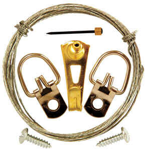 OOK  OOK  Steel-Plated  Steel  Professional  30 lb. 7 pk Picture Hanging Set