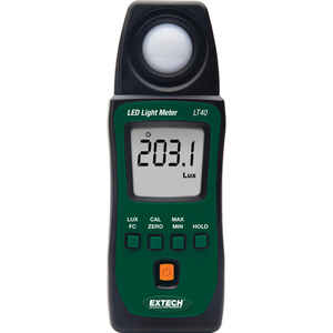 Extech  Basic Accuracy  40-40,000 FC  LED  Light Meter
