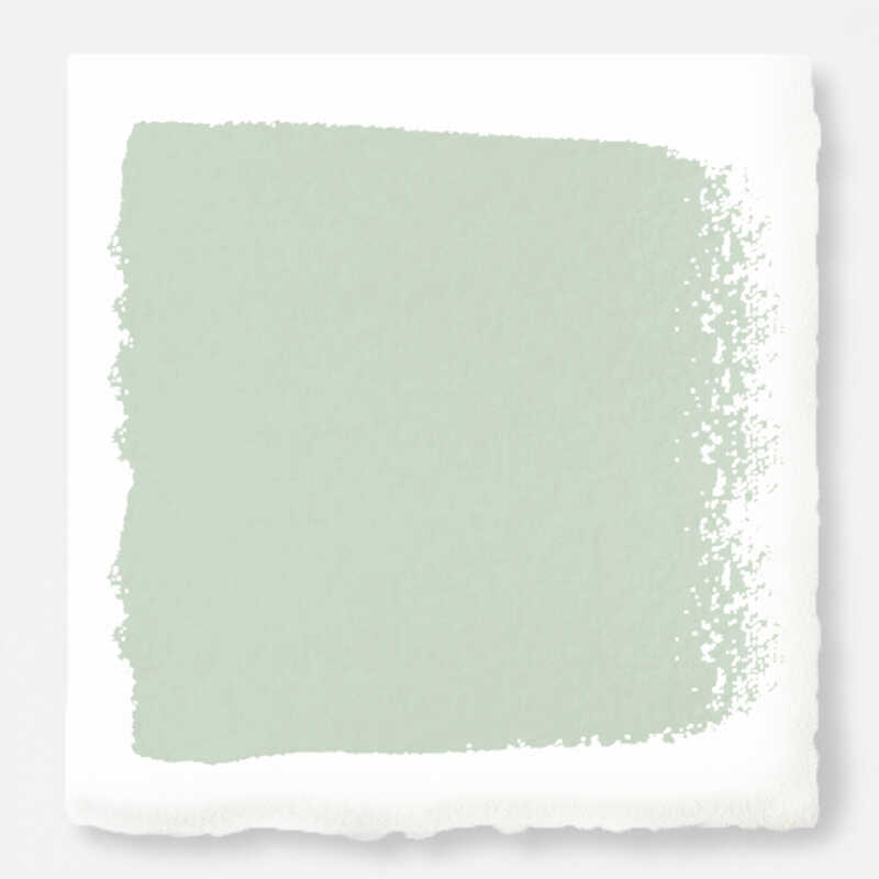 Magnolia Home  by Joanna Gaines  Eggshell  Mineral Green  Ultra White Base  Acrylic  Paint  1 gal.